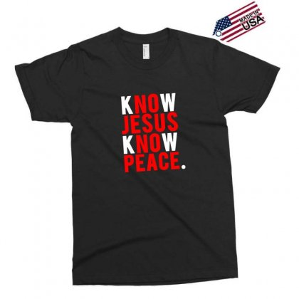Know Jesus Know Peace Merch Exclusive T-shirt Designed By Willo