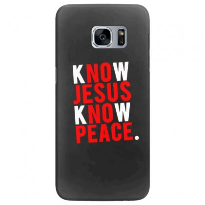 Know Jesus Know Peace Merch Samsung Galaxy S7 Edge Case Designed By Willo
