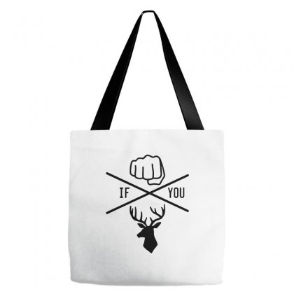 Knuck If You Buck Tee Tote Bags Designed By Willo