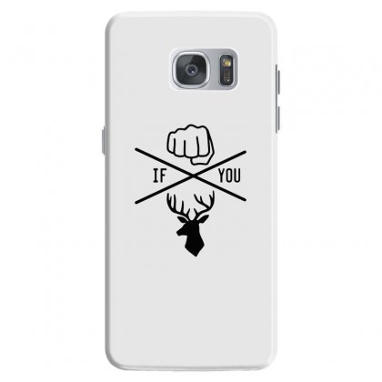 Knuck If You Buck Tee Samsung Galaxy S7 Case Designed By Willo