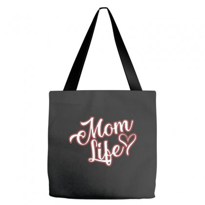 Mom Life Tote Bags Designed By Alan