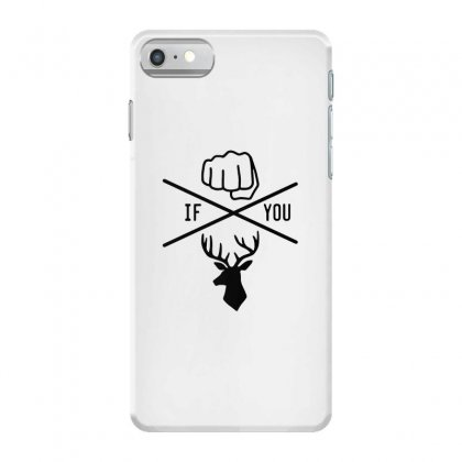 Knuck If You Buck Tee Iphone 7 Case Designed By Willo