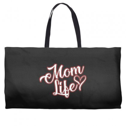 Mom Life Weekender Totes Designed By Alan