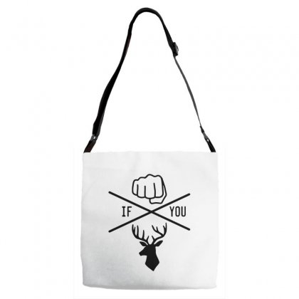 Knuck If You Buck Tee Adjustable Strap Totes Designed By Willo