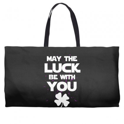 May The Luck Be With You Irish Parody Weekender Totes Designed By Alan