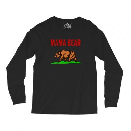Mama Bear Long Sleeve Shirts Designed By Alan