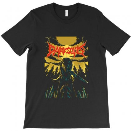 Unofficial Darksouls Metal Band T-shirt Designed By Allison Serenity