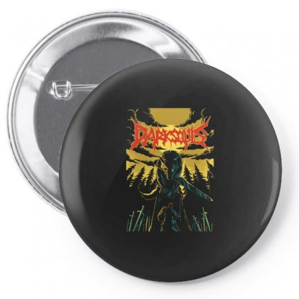 Unofficial Darksouls Metal Band Pin-back Button Designed By Allison Serenity