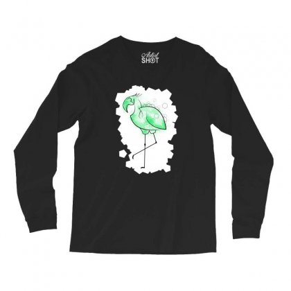 Flamingeo Long Sleeve Shirts Designed By Alan