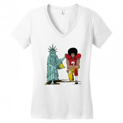 united we kneel Women's V-Neck T-Shirt | Artistshot