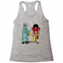 united we kneel Racerback Tank | Artistshot