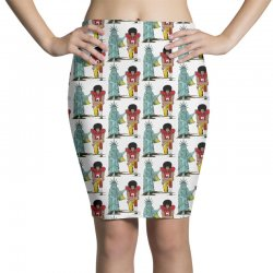 united we kneel Pencil Skirts | Artistshot