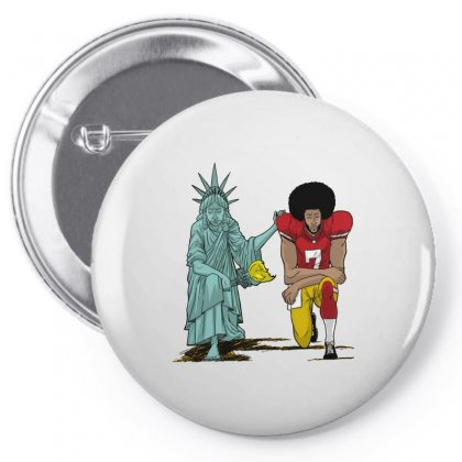 United We Kneel Pin-back Button Designed By Allison Serenity
