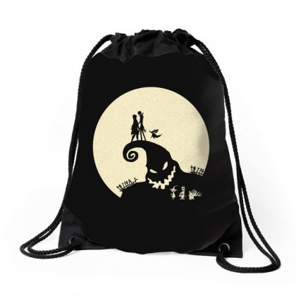 Nightmare Love Drawstring Bags Designed By Allison Serenity