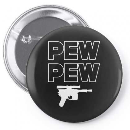 Pew Pew Pin-back Button Designed By Alan