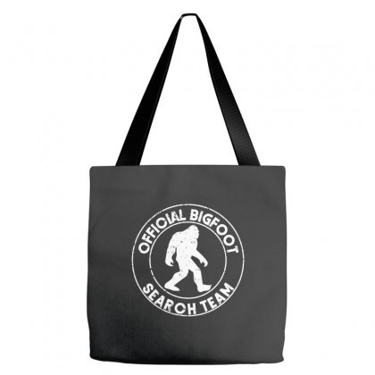 Official Bigfoot Search Team Tote Bags Designed By Alan