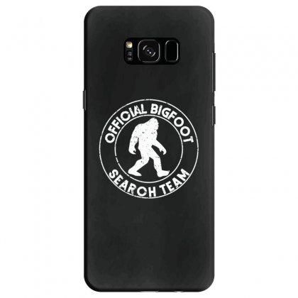 Official Bigfoot Search Team Samsung Galaxy S8 Case Designed By Alan