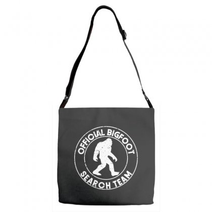 Official Bigfoot Search Team Adjustable Strap Totes Designed By Alan