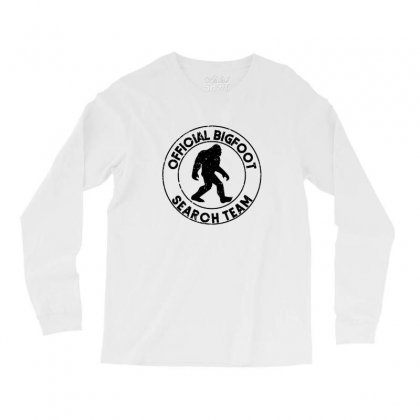 Official Bigfoot Search Team Long Sleeve Shirts Designed By Alan