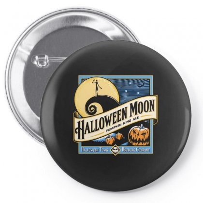 Halloween Moon Pin-back Button Designed By Allison Serenity