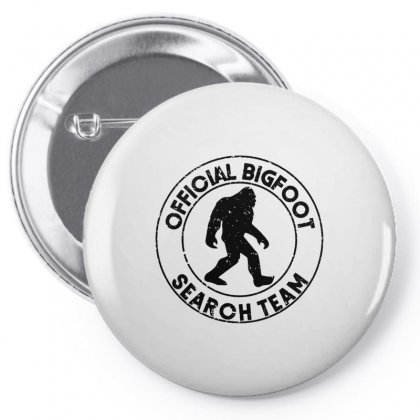 Official Bigfoot Search Team Pin-back Button Designed By Alan