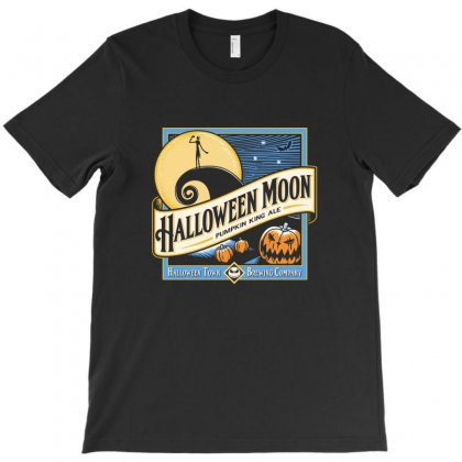 Halloween Moon T-shirt Designed By Allison Serenity