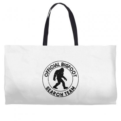Official Bigfoot Search Team Weekender Totes Designed By Alan