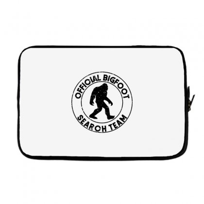 Official Bigfoot Search Team Laptop Sleeve Designed By Alan