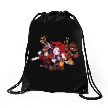 Halloween Is Coming Drawstring Bags Designed By Allison Serenity