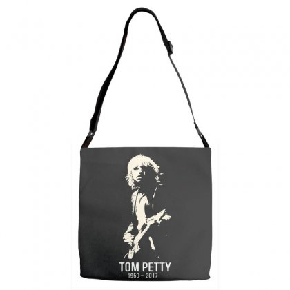 Tom Petty Adjustable Strap Totes Designed By Allison Serenity