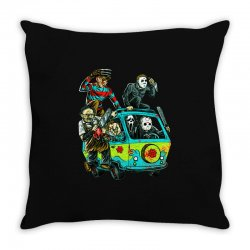 the massacre machine Throw Pillow | Artistshot