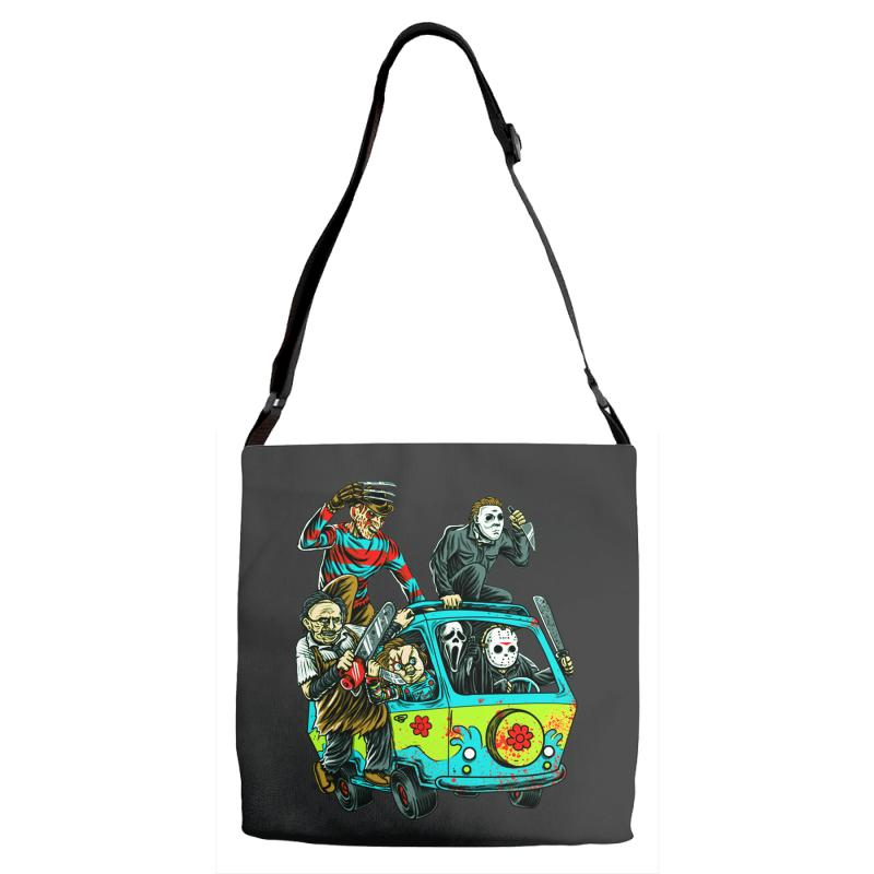 The Massacre Machine Adjustable Strap Totes | Artistshot