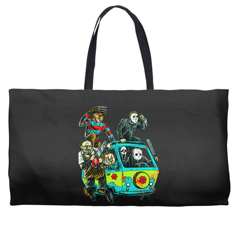 The Massacre Machine Weekender Totes | Artistshot