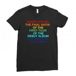 harry styles final show Ladies Fitted T-Shirt | Artistshot