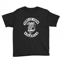 sons of odin   valhalla chapter Youth Tee | Artistshot