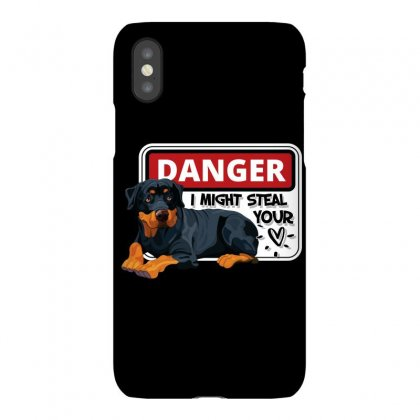 Rottweiler Might Steal Your Heart Iphonex Case Designed By Tiococacola