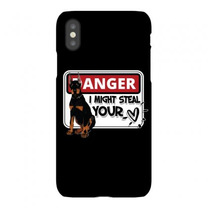 Doberman Might Steal Your Heart Iphonex Case Designed By Tiococacola