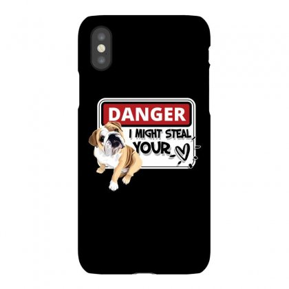 Bulldog Might Steal Your Heart Iphonex Case Designed By Tiococacola