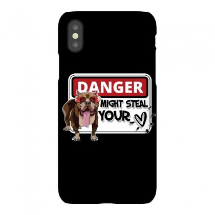 Pitbull Bully Might Steal Your Heart Iphonex Case Designed By Tiococacola