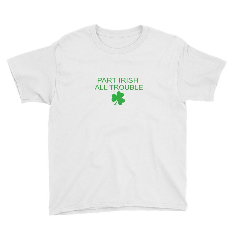 Part Iris All Trouble Youth Tee | Artistshot