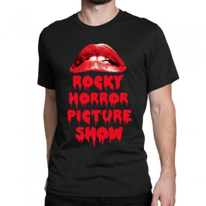 Rocky Horror Picture Show Lips Classic T-shirt Designed By Ande Ande Lumut