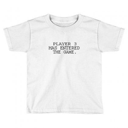 Player Want Enter The Game Toddler T-shirt Designed By Equinetee