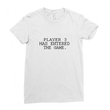 Player Want Enter The Game Ladies Fitted T-shirt Designed By Equinetee