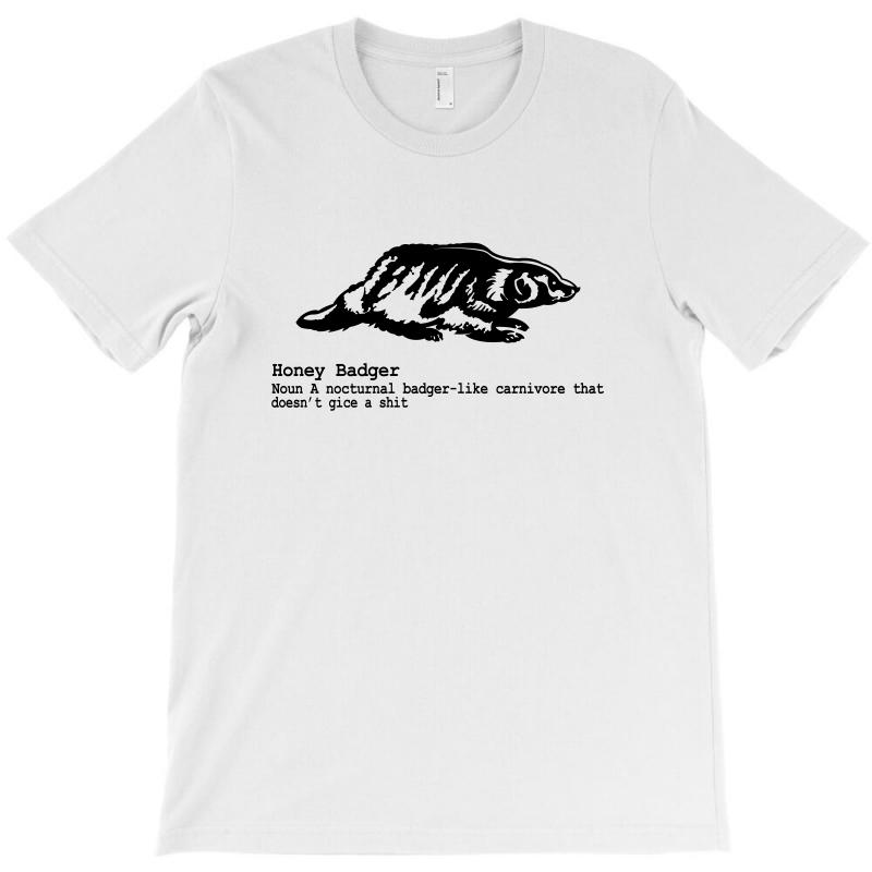 Honey Badger T-shirt | Artistshot