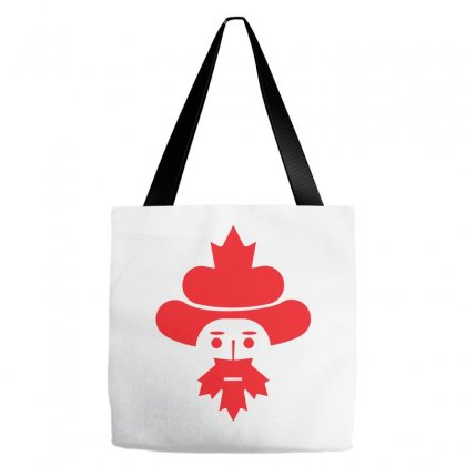 Canada Man Icon Tote Bags Designed By Lion Star Art