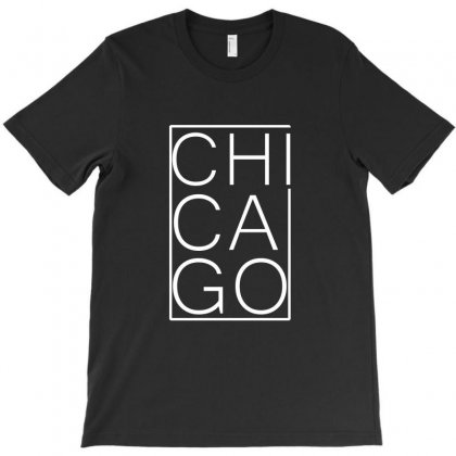 Chicago White Version T-shirt Designed By Equinetee