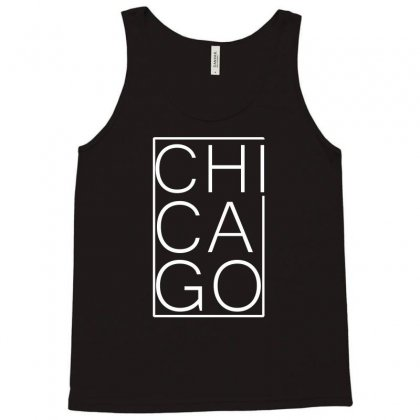 Chicago White Version Tank Top Designed By Equinetee