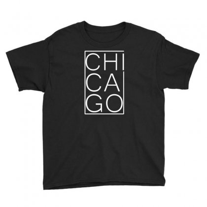 Chicago White Version Youth Tee Designed By Equinetee