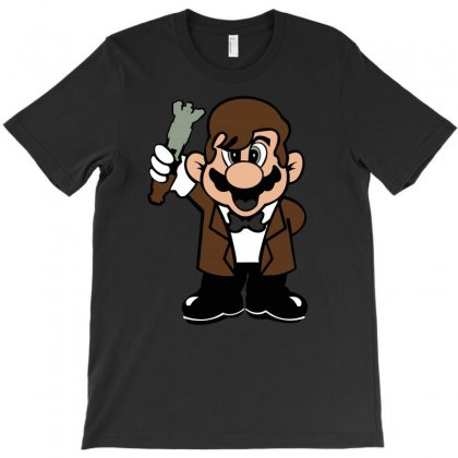 11th Doctor Mario T-shirt Designed By Acen9