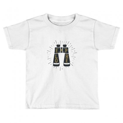 Explore Toddler T-shirt Designed By Disgus_thing